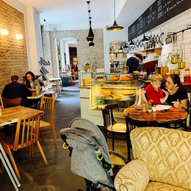 Brunch at Café KRONE
