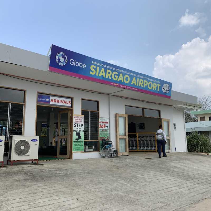 Siargao Airport (IAO) (IAO)