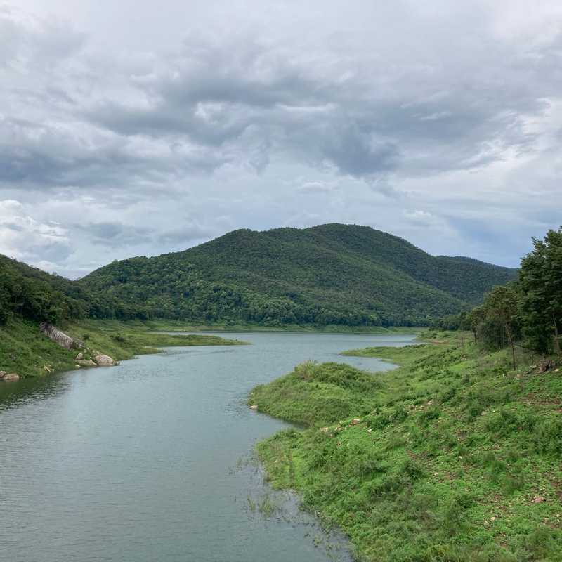 Mae Kuang Dam Suspension Bridge