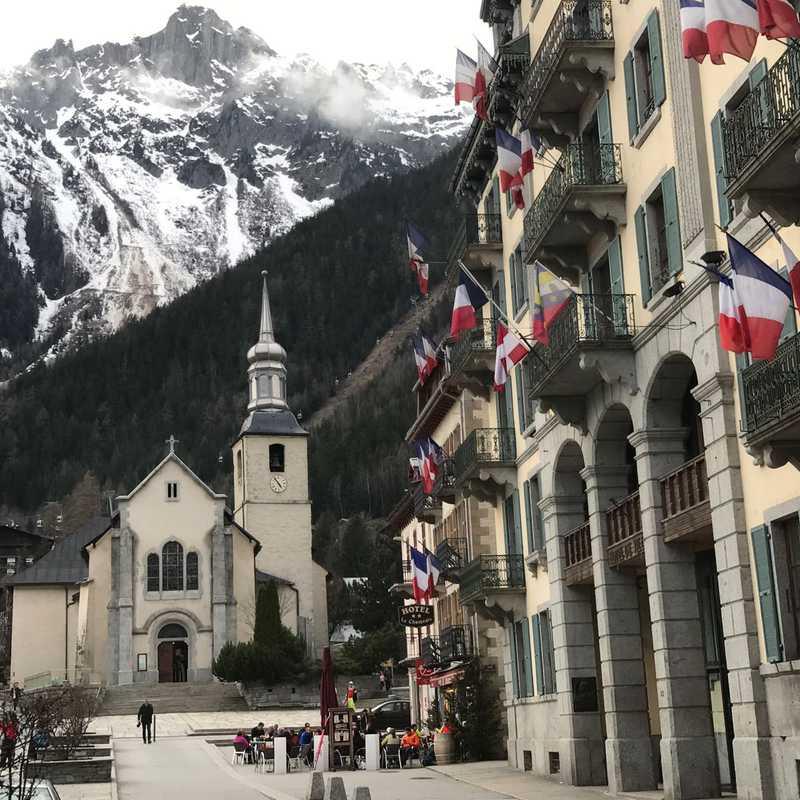Walk around Chamonix Village