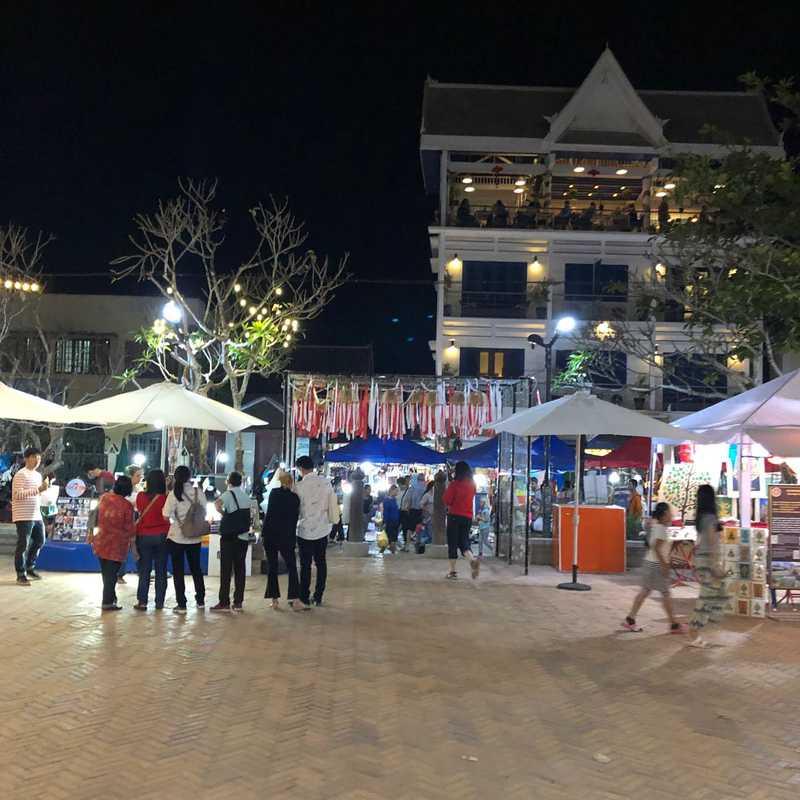 Street For Night Market food