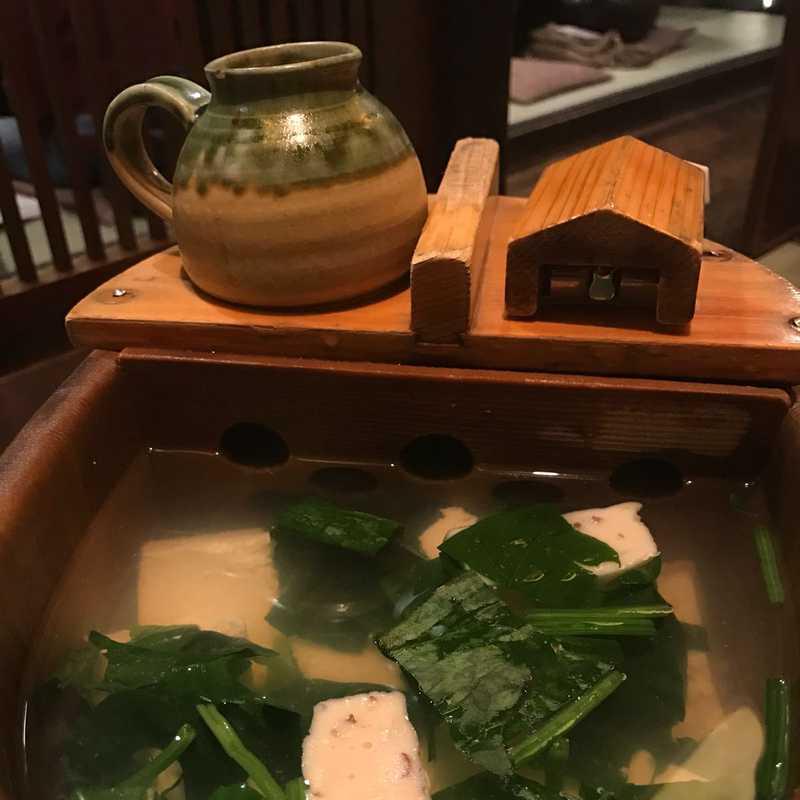 Dinner at Tousuiro Kiyamachi