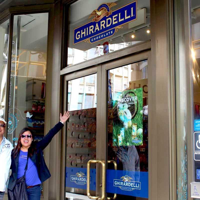 The Original Ghirardelli Ice Cream & Chocolate Shop at Ghirardelli Square