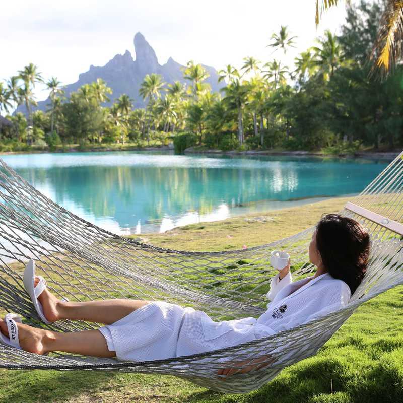 Stay at The St. Regis Bora Bora Resort