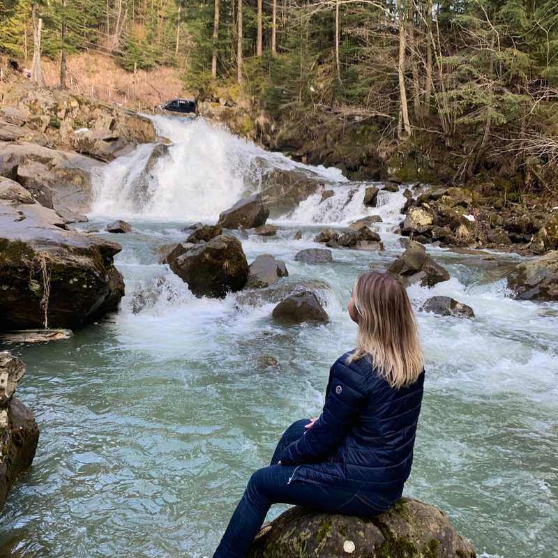 Kamenetsky waterfall