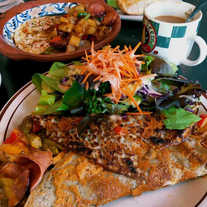 Brunch at Chez Jose Cafe