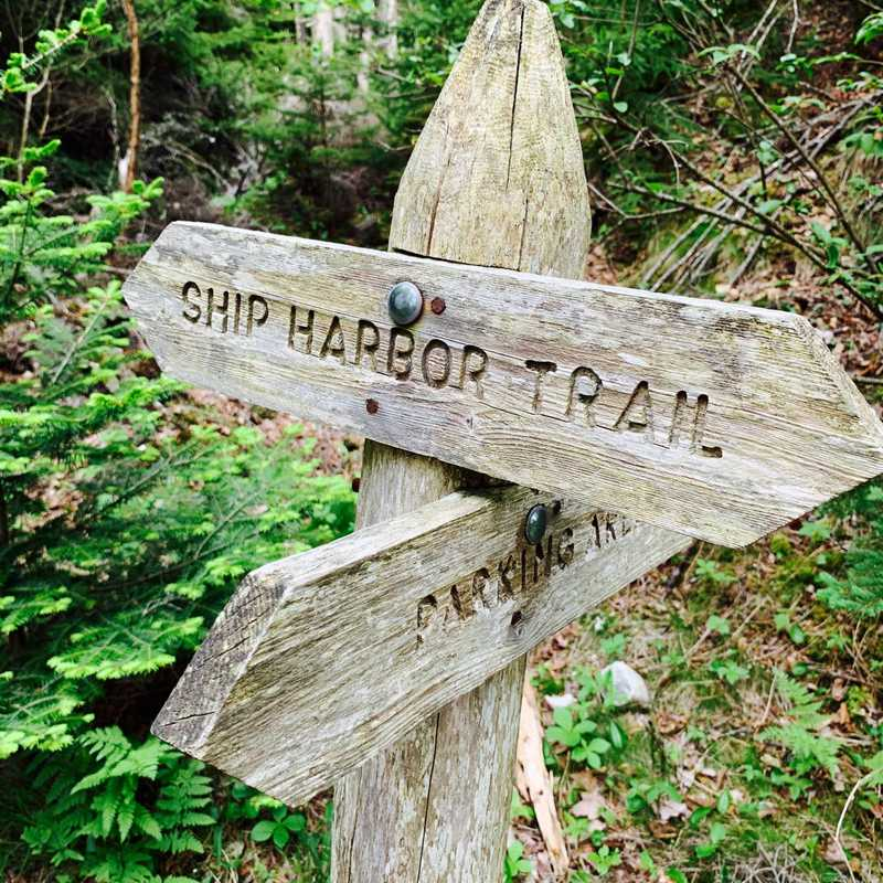 Ship Harbor Trailhead