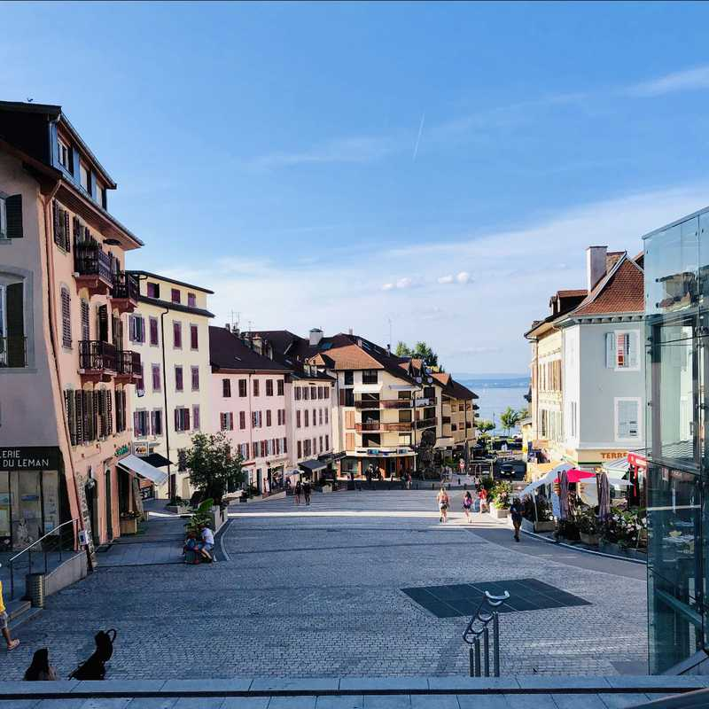 Trip Blog Post by @justin: Évian-les-Bains 2019 | 2 days in Aug (itinerary, map & gallery)
