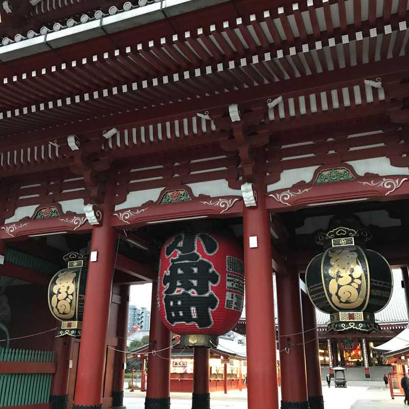 Visiting Sensō-ji Temple in the Morning