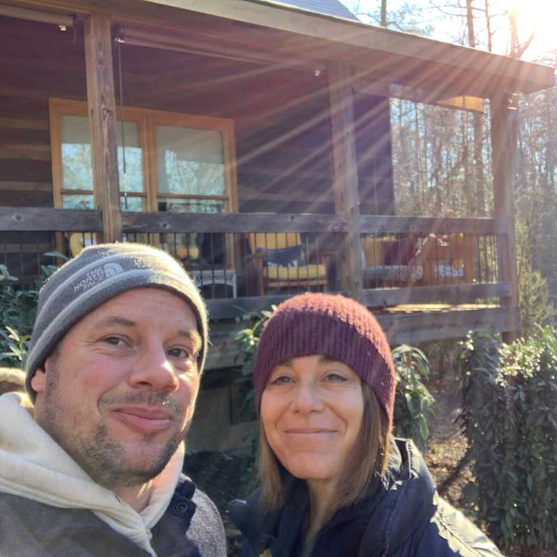 Trip Blog Post by @Sweetadventures: Ellijay Cabin Friend Trip | 1 day in Dec (itinerary, map & gallery)