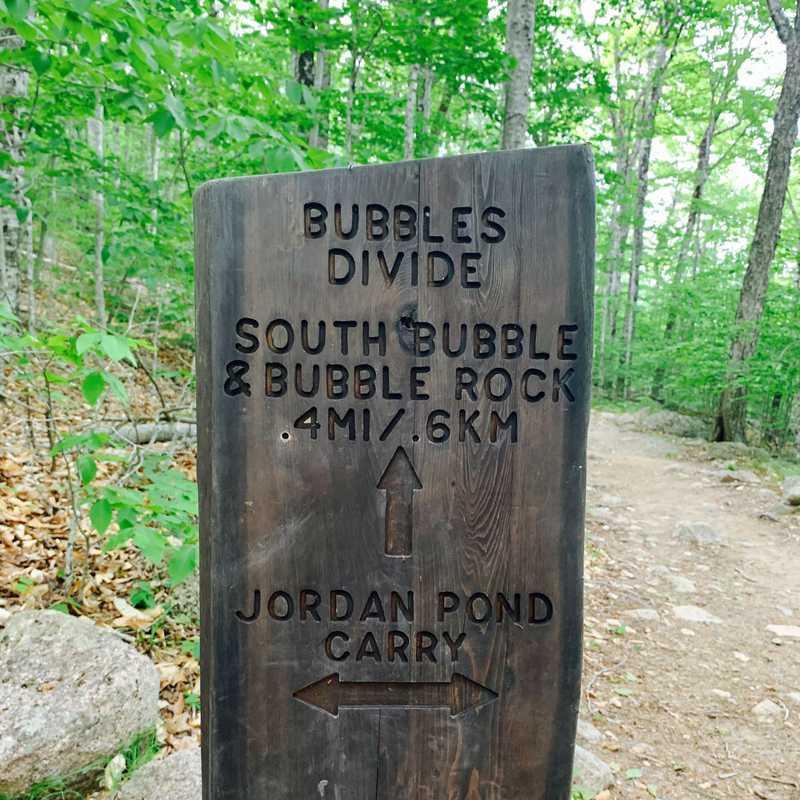 Bubbles Divide Trail