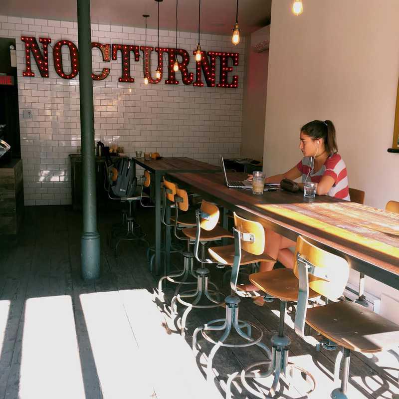 Breakfast at Café Nocturne