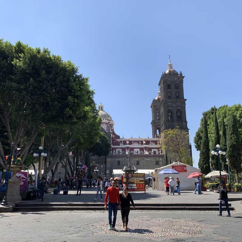 Place / Tourist Attraction: Zocalo (Puebla, Mexico)