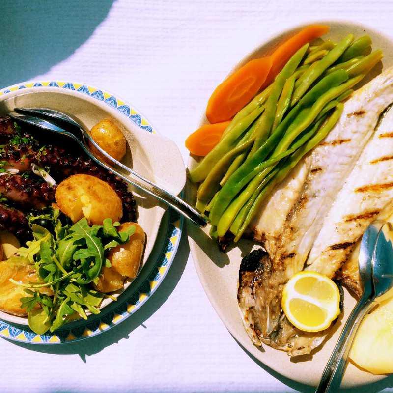 Lunch at Restaurant O Ernesto
