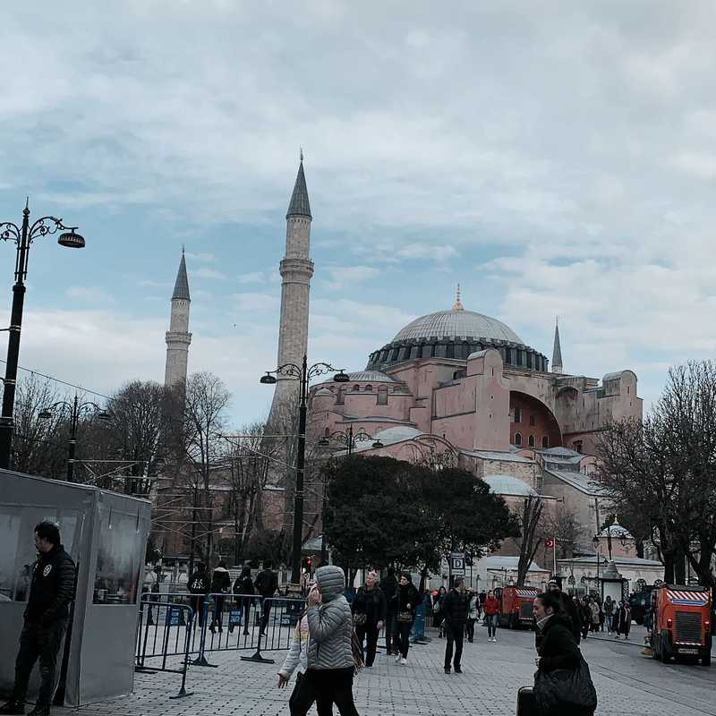 Place / Tourist Attraction: Sultanahmet Square (Fatih, Turkey)