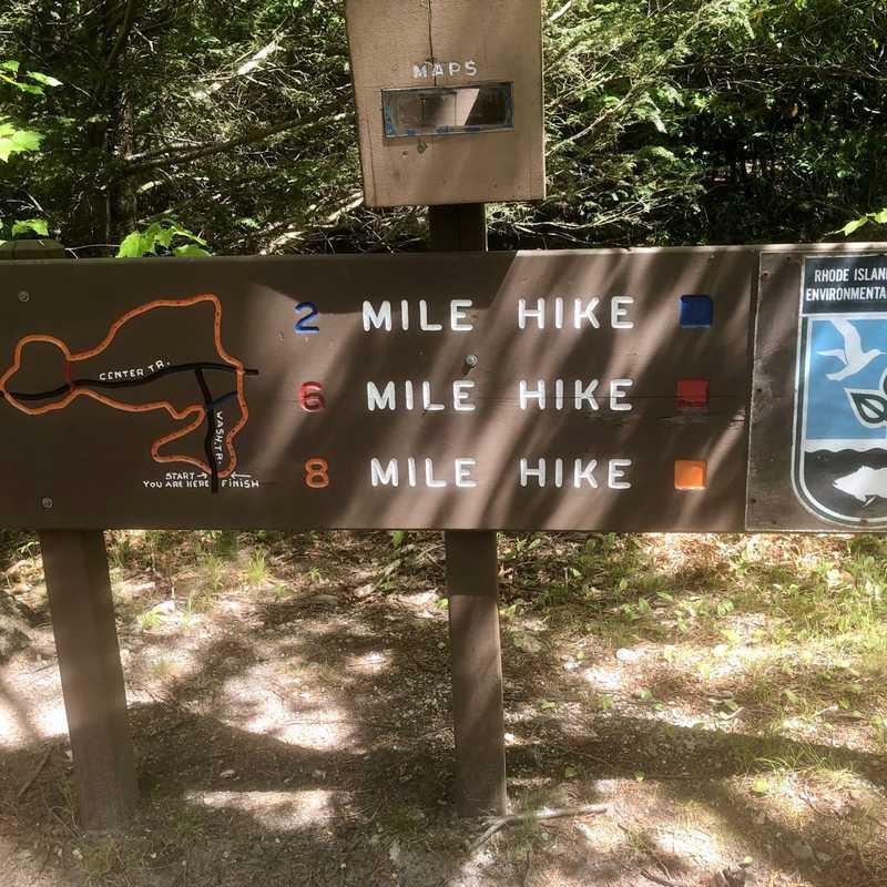 Walkabout Trail Trailhead