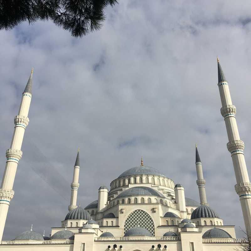 Place / Tourist Attraction: Çamlıca Mosque (Üsküdar, Turkey)