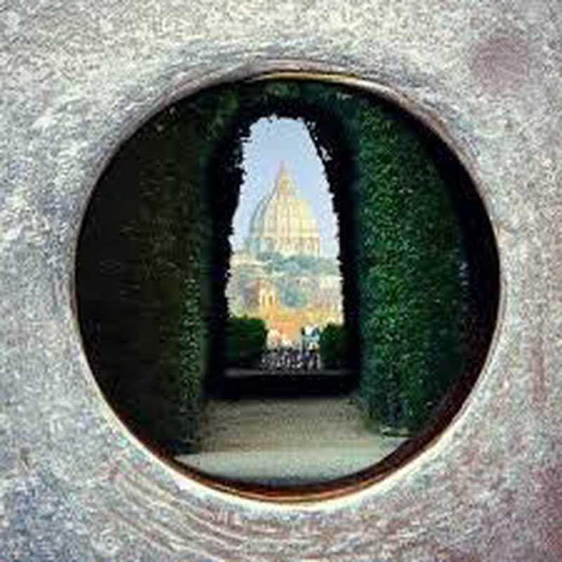Buco della serratura di Roma