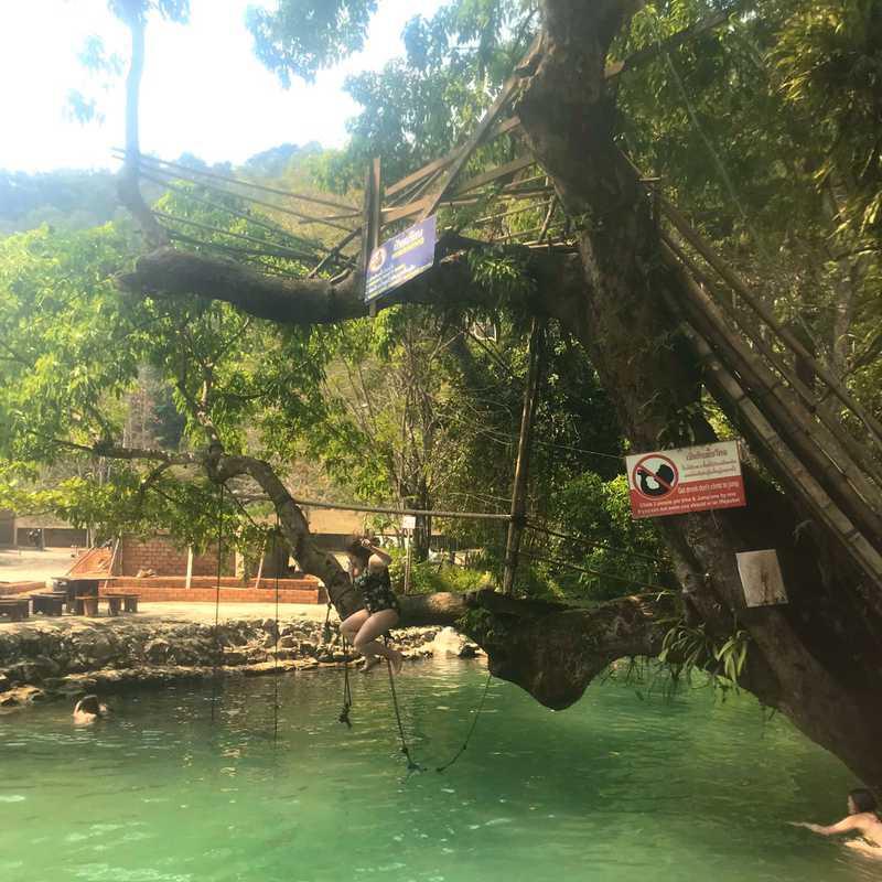 Blue Lagoon and Phu Kham Cave Vang Vieng