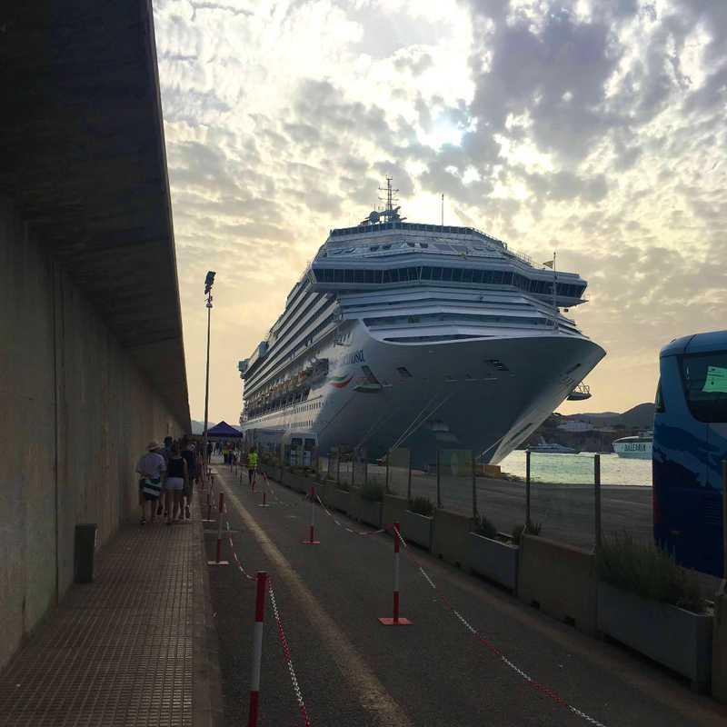 Cruise in West Mediterranean Sea 2019