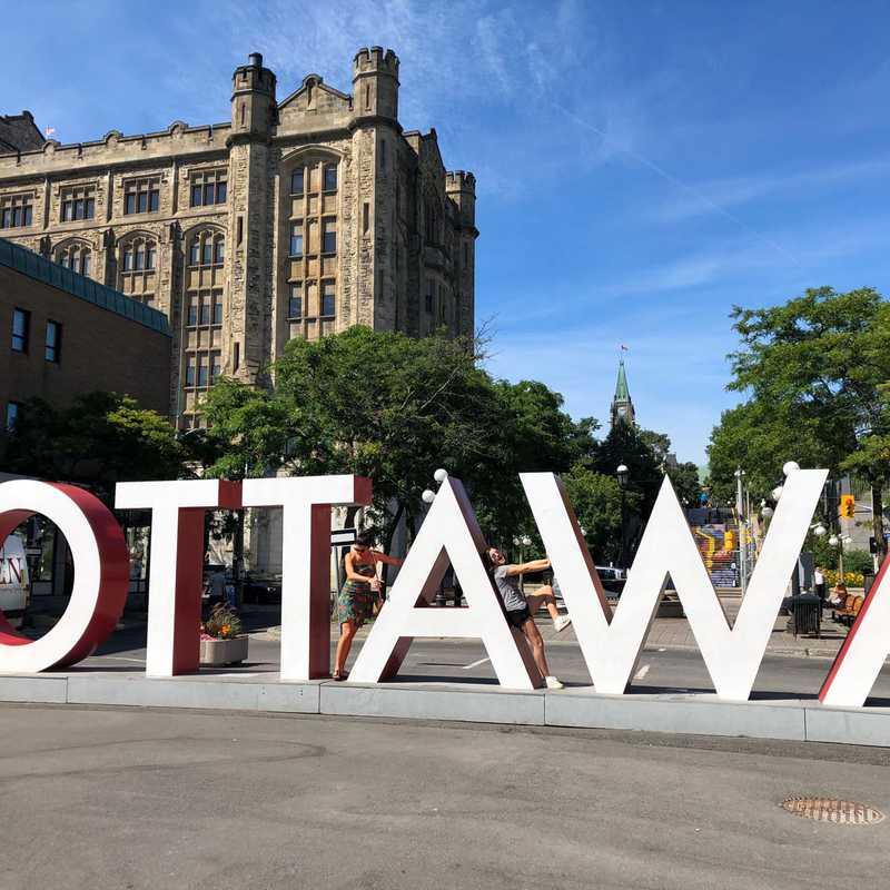 Ottawa Sign, ByWard Market