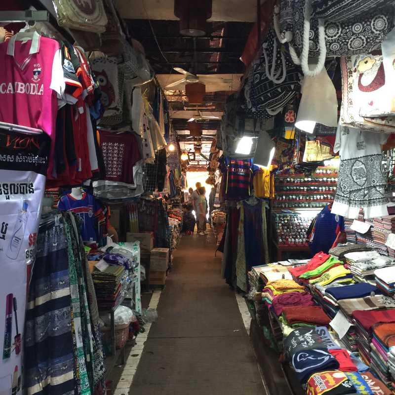 Place / Tourist Attraction: Market street (Siem Reap, Cambodia)
