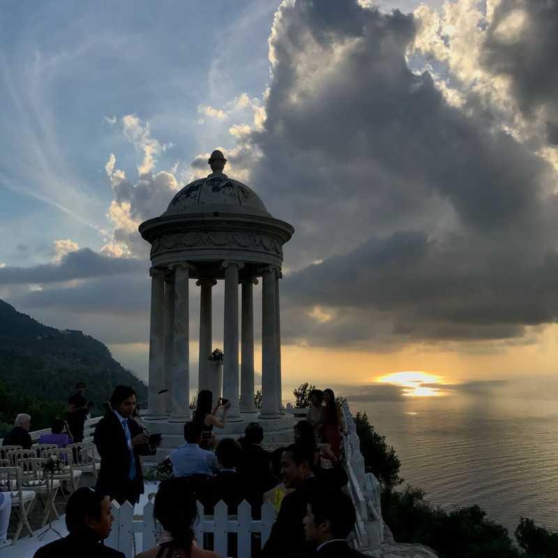 Wedding Ceremony at Son Marroig