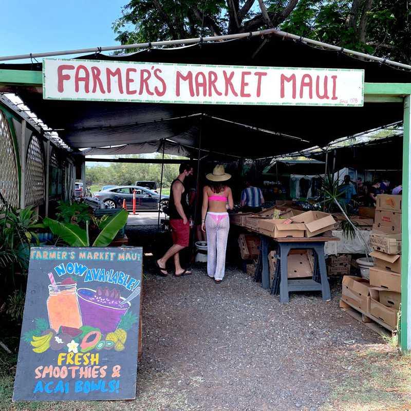 Farmers Market Maui