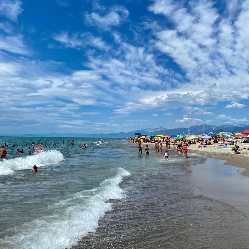 Viareggio Free Beach