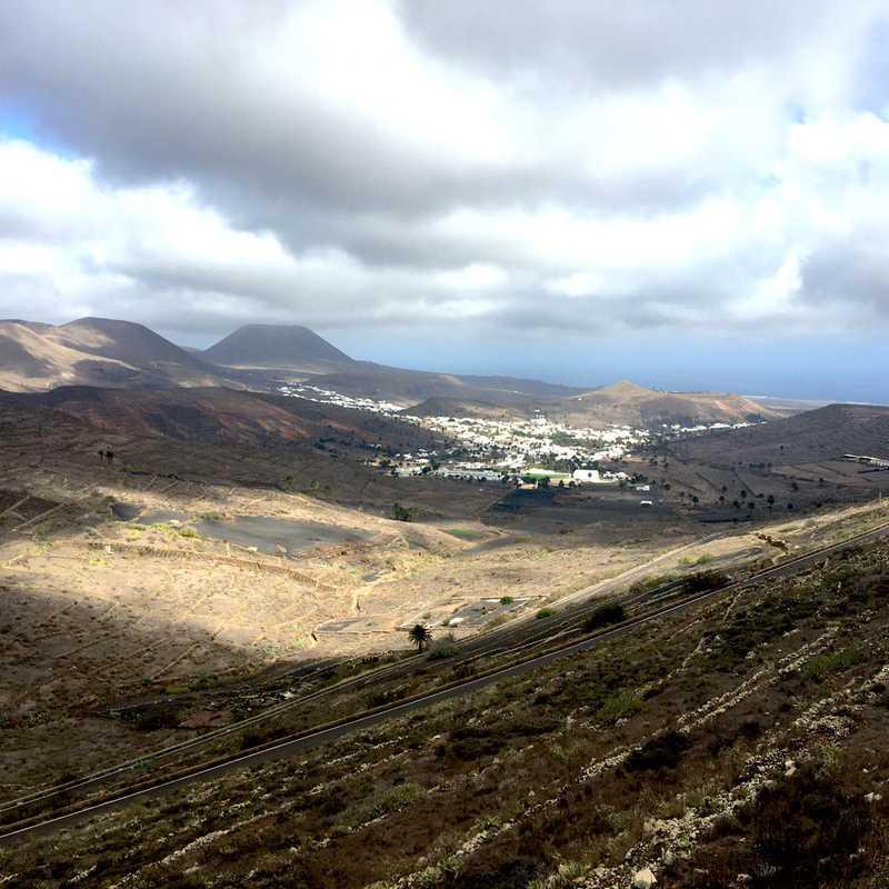 Mirador de El Risco de Famara - Parque El Bosquecillo