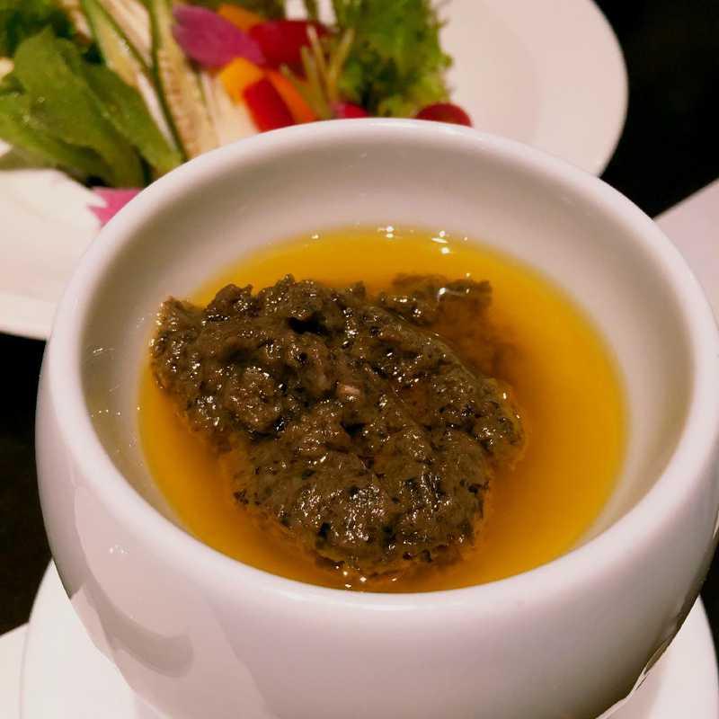 Dinner at Sarara Ginza