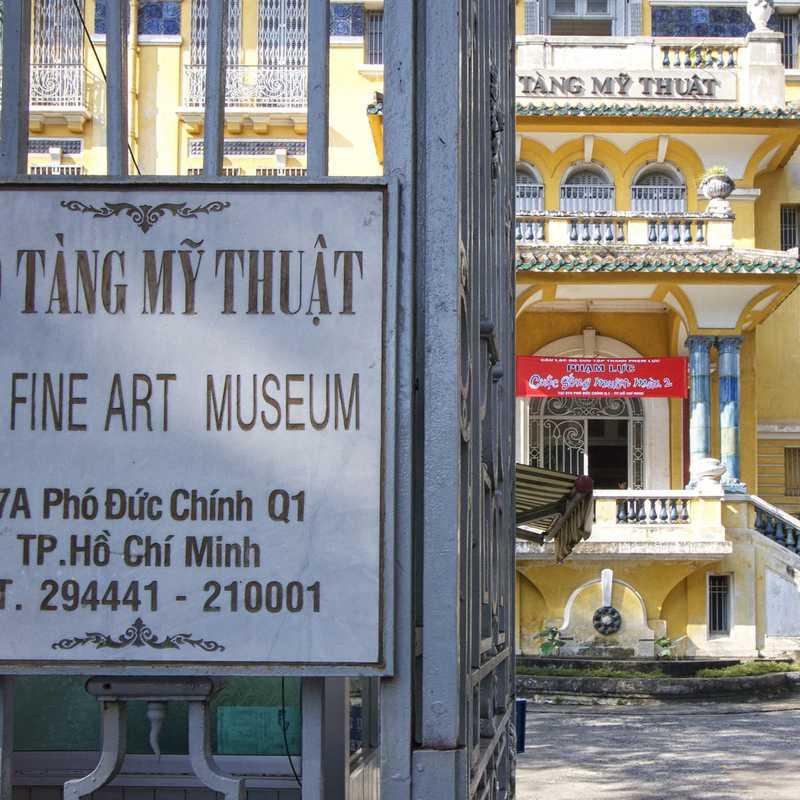 Place / Tourist Attraction: Ho Chi Minh City Museum of Fine Arts (District 1, Vietnam)