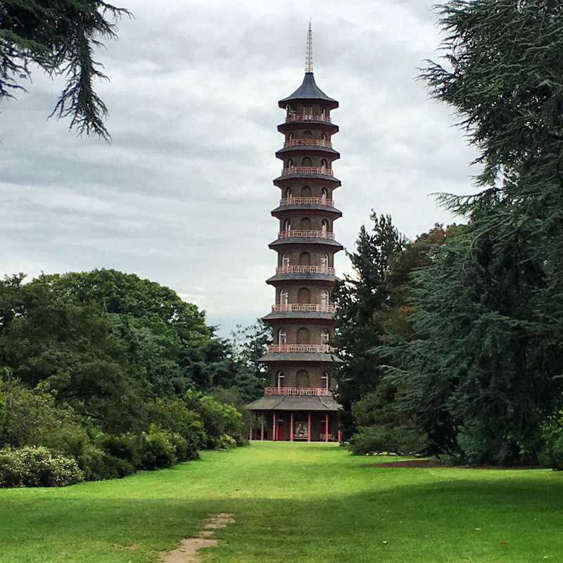 Japanese Landscape - Kew Gardens