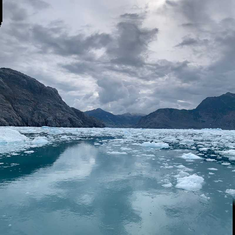 The Face of Columbia Glacier