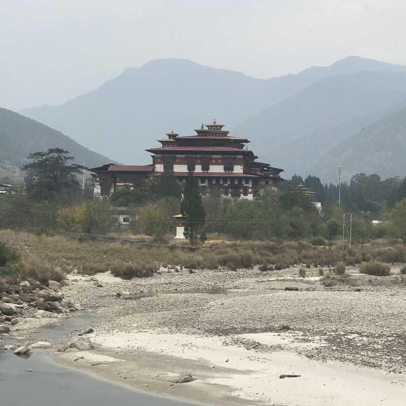 Punakha dzong view point