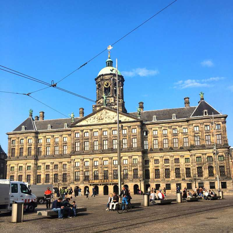 Place / Tourist Attraction: Royal Palace Amsterdam (Amsterdam, Netherlands)