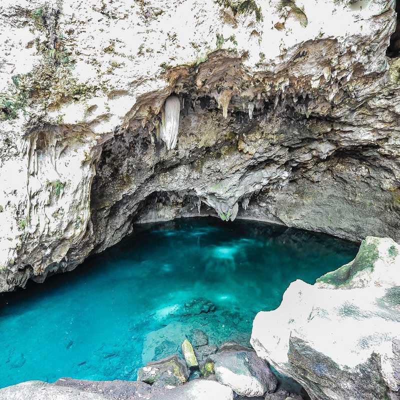 Los Tres Ojos National Park