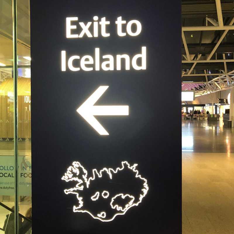 Keflavík International Airport (KEF)