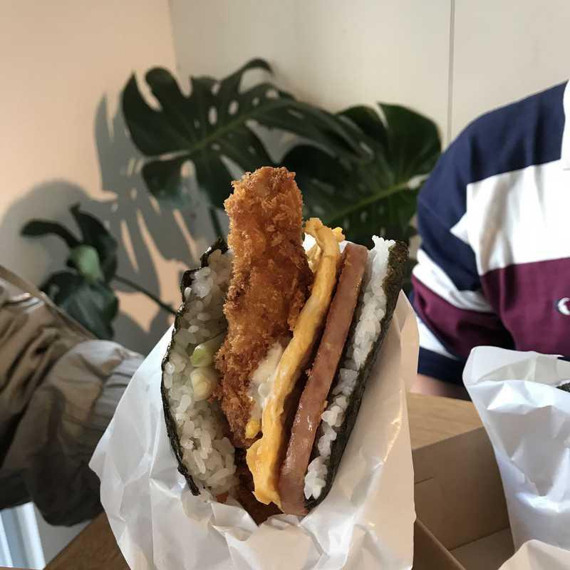 Pork Tamago Onigiri Honten