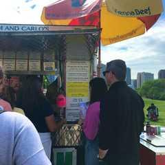Kim and Carlo's Hotdog Cart