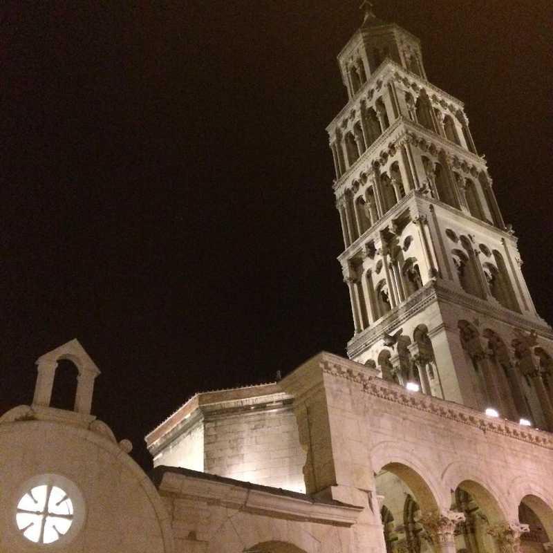 Night Walk around Split Old Town