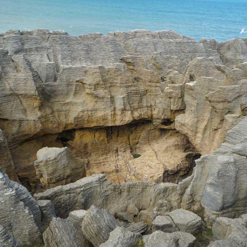 Punakaiki Cavern