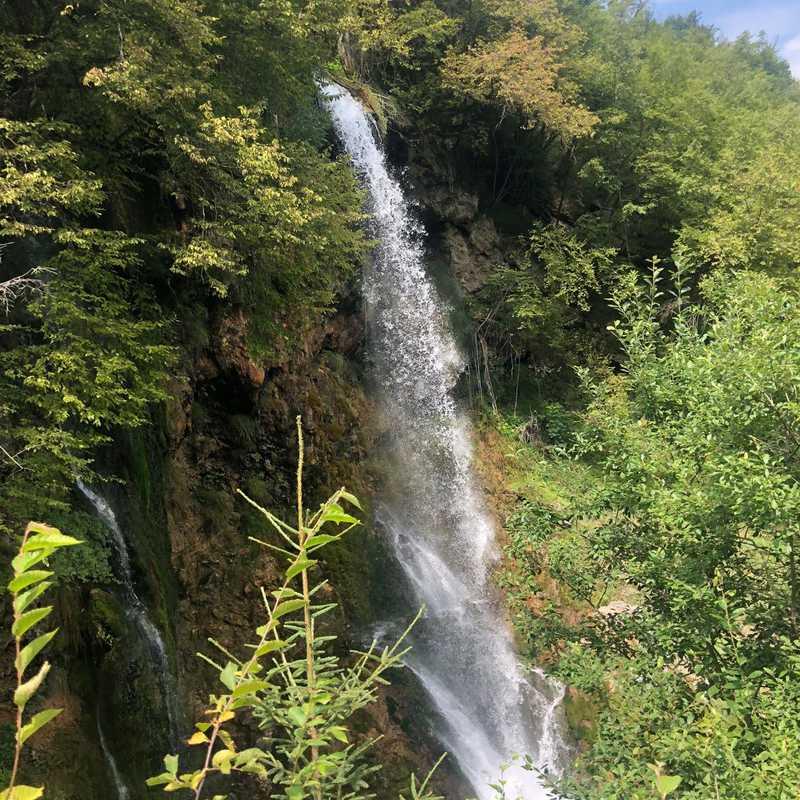 Gostilje waterfalls