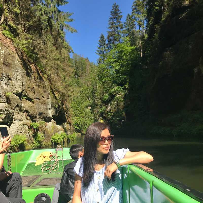 Kamenice Gorge
