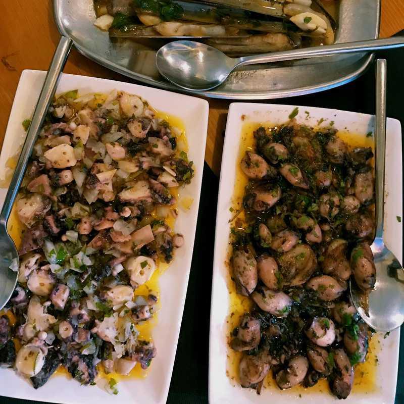 Dinner at O Lobo do Mar