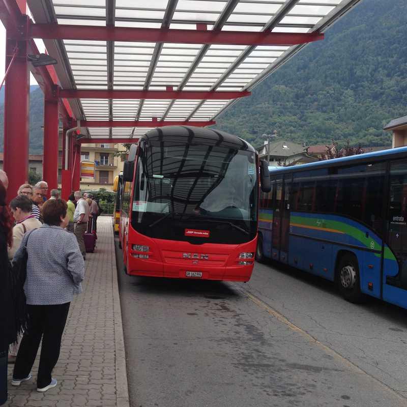 Bernina Bus: Tirano to Lugano