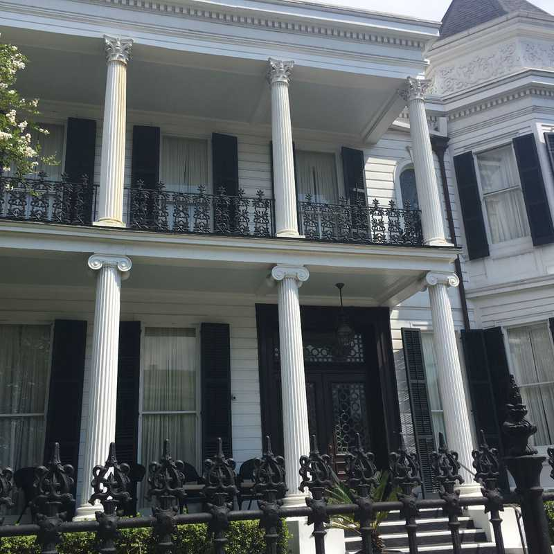 Garden District Mansions