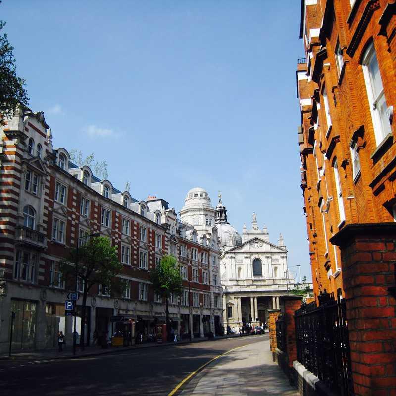 Morning Walk In Chelsea