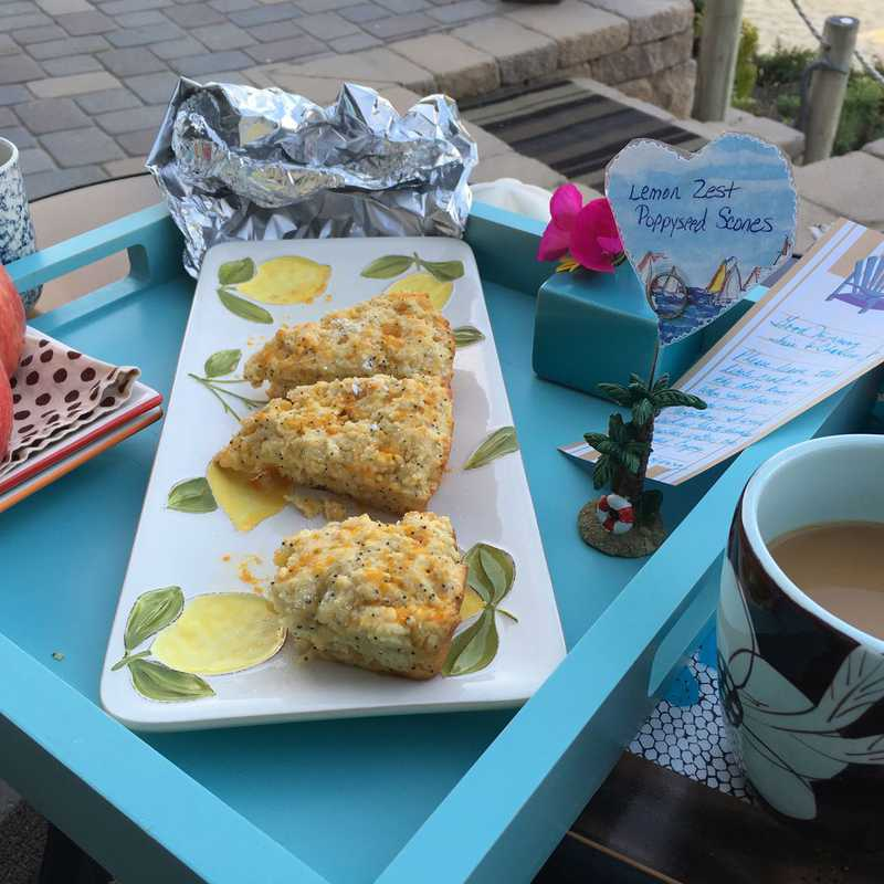 Homemade Breakfast with a View