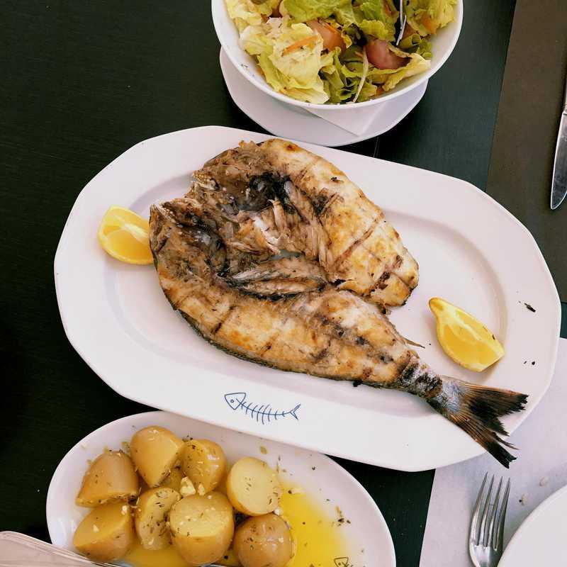 Lunch at Restaurante Evaristo